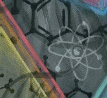THC - Molecule Sticker