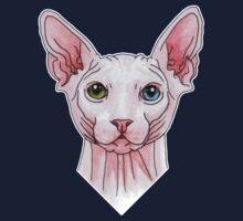 Sphynx cat portrait One Piece - Short Sleeve