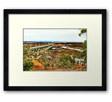 Seaford Line Framed Print