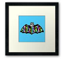 AQUABATS : SKA PUNK Framed Print