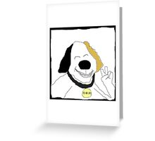 Pees and Loves Greeting Card