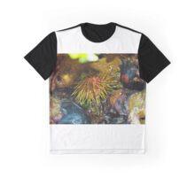 Sea Urchin and Starfish Graphic T-Shirt