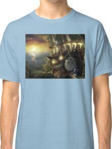 Totoro and Cat bus Classic T-Shirt