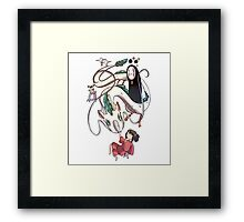 spirited adventure  Framed Print