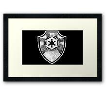 Galactic Empire Symbol Framed Print