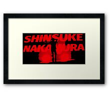 Shinsuke Nakamura Framed Print