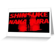 Shinsuke Nakamura Greeting Card