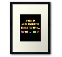 Zeo 20th Anniversary 1 Framed Print