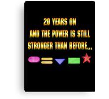 Zeo 20th Anniversary 1 Canvas Print