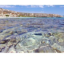 Crystal Clear Waters Photographic Print