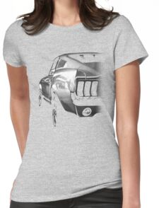 ford mustang v8 Womens Fitted T-Shirt