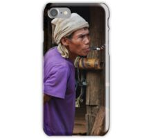 Pipe Smoker iPhone Case/Skin