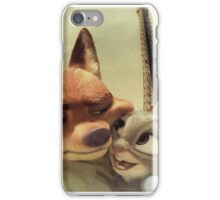 Nick Wilde and Judy Hopps (funny) iPhone Case/Skin