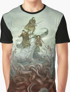 Dragon Warriors Players Book Graphic T-Shirt