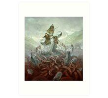 Dragon Warriors Players Book Art Print