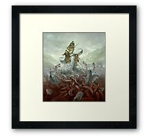 Dragon Warriors Players Book Framed Print