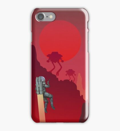 Blood Red Mars iPhone Case/Skin