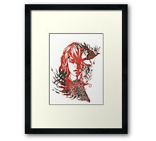 Gothic Girl Framed Print