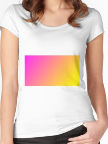 asdf cool summer gradient Women's Fitted Scoop T-Shirt