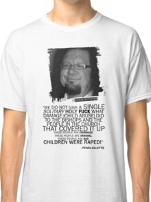 Jenn Jillette Catholic Church quote 2w Classic T-Shirt