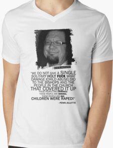 Jenn Jillette Catholic Church quote 2w Mens V-Neck T-Shirt