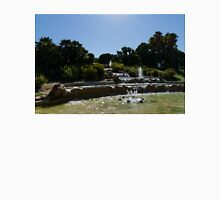 Joyful, Sunny Splashes - Jardins del Mirador Fountains in Montjuic Park, Barcelona, Spain Unisex T-Shirt