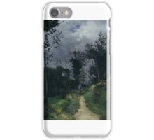 Rural Guardsman in the Fountainbleau Forest iPhone Case/Skin