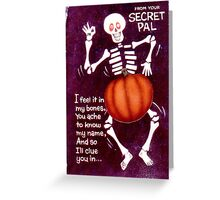 Zodiac Killer Halloween  Greeting Card