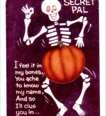 Zodiac Killer Halloween  Sticker