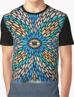 Psychedelic Street Art, Tel Aviv Graphic T-Shirt