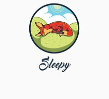 Sleepy fox - lazy - fox Unisex T-Shirt