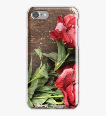 2.4.2016: Plastic Flowers iPhone Case/Skin