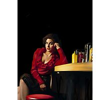Audrey Horne, RR diner Photographic Print