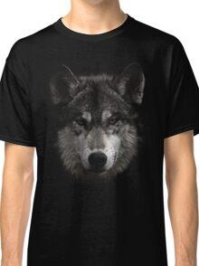 Halftone Wolf Animal Classic T-Shirt