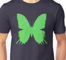 #DeepDream Lime Green color Butterfly Unisex T-Shirt