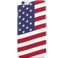 American Flag Waving  iPhone Case/Skin