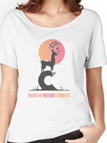 Wake up Before Sunrise Women's Relaxed Fit T-Shirt