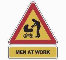 Men at work signal - Stroller One Piece - Long Sleeve