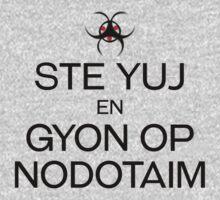 STE YUJ - GYON OP NODOTAIM [dark] Kids Tee