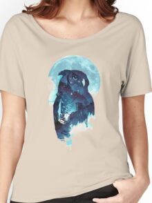 Midnight owl Women's Relaxed Fit T-Shirt