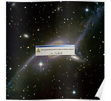 God Not Found - ngc 6872 gemini Poster