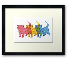 RGB Kittens Framed Print
