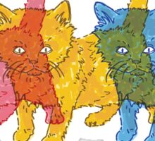 RGB Kittens Sticker