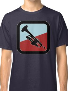 Trumpet Sign Colorful Classic T-Shirt