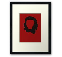 Faceless Revolutionary Framed Print