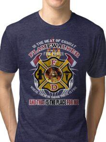 fire walker 9 Tri-blend T-Shirt