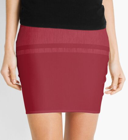 Minimalistic 3 - Raspberry Mini Skirt