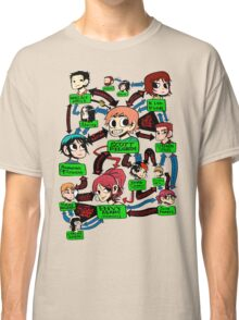 Scott pilgrim relationships Classic T-Shirt