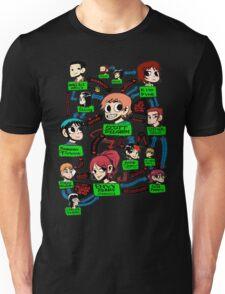 Scott pilgrim relationships Unisex T-Shirt