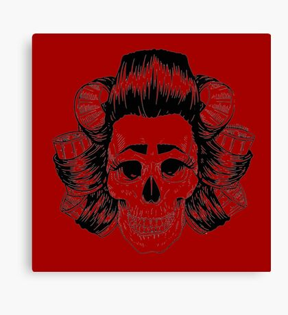 THE SKULL IS COOL Canvas Print